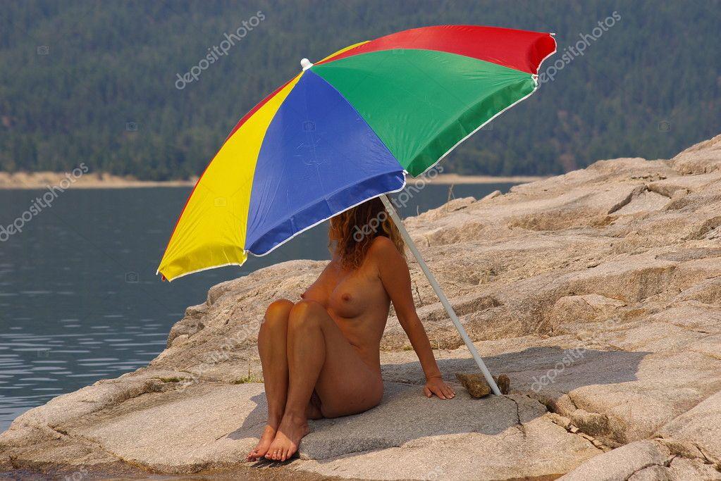Пляжный зонт своими руками