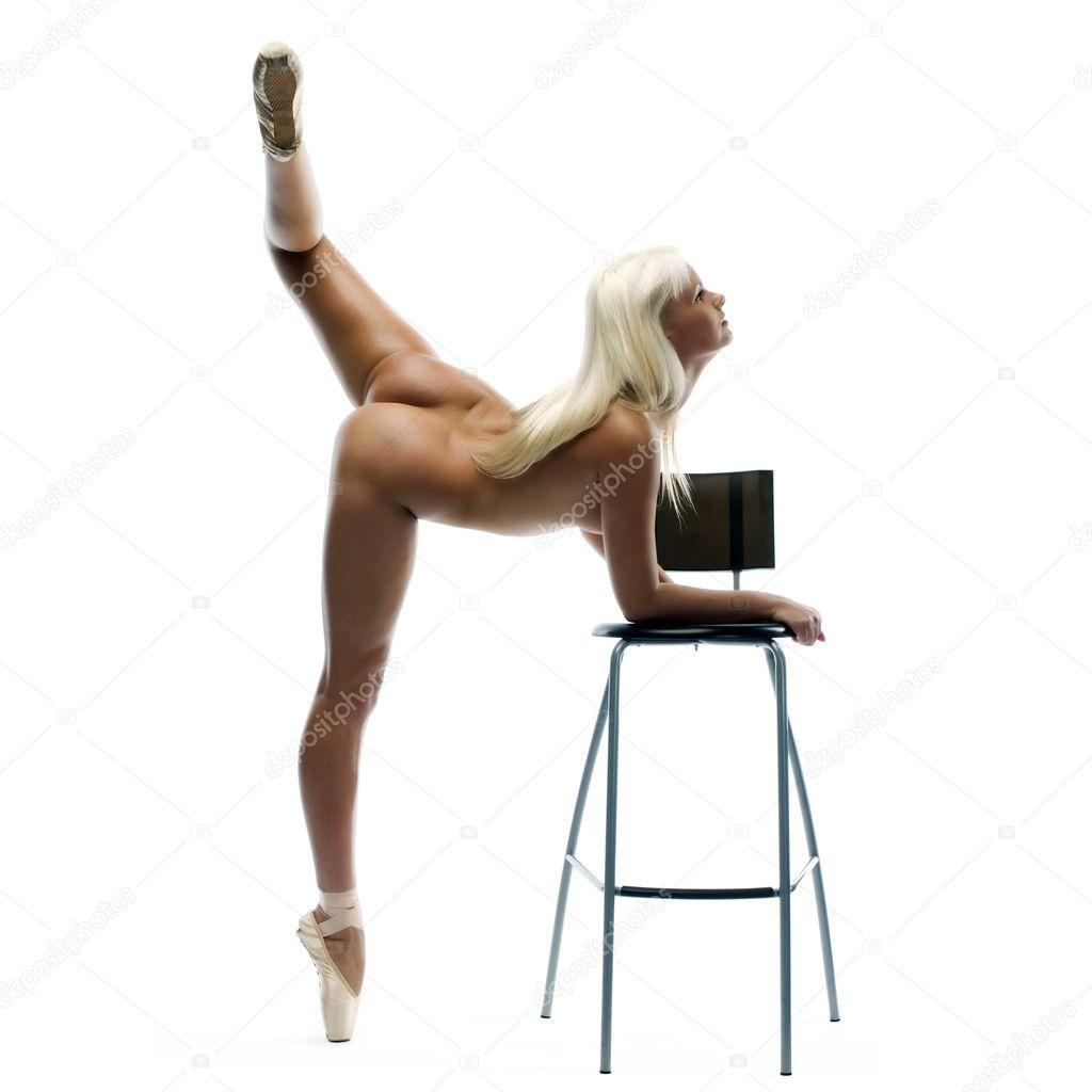 Nude Ballerina Dancing 20