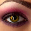 Stock Photo: Eye makeup