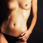 Anonymous wet nude - studio shoot — Stock Photo #1792736