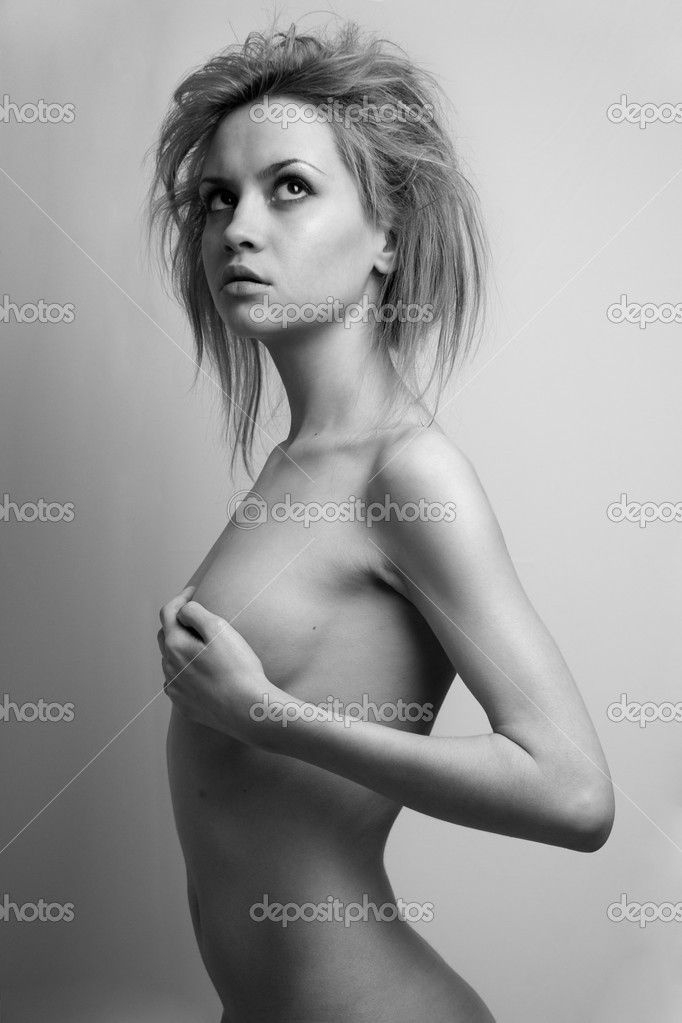 Nude elegant girl.Beautiful woman. Fashion art photo. — Stock Photo #2278225