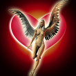 The Angel Of Love - Stock Photo